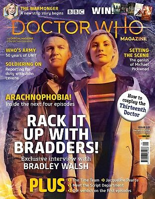 Doctor Who Magazine December 2018 (Issue 531) New...fast Post