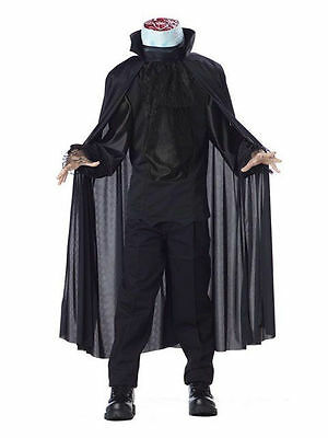 Sleepy Hollow Headless Horseman Deluxe Halloween Costume Boy Girl Child SZ LG