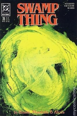 Swamp Thing (2nd Series) #78 1988 FN Stock Image