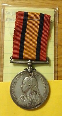 Queen's South Africa Medal    Stockenstroom  D.m.c.
