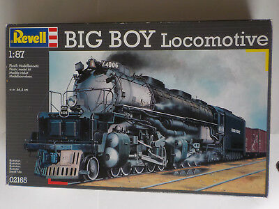 REVELL MODELLBAUSATZ BIG BOY LOCOMOTIVE 1:87 neu in OVP 02165