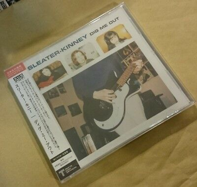 ◆Fs◆Sleater-Kinney「Dig Me Out」Japan Rare Sample Cd New◆Trcp-175