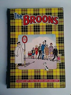 THE BROONS rare 1967 Book  Dudley D. Watkins  D.C. Thomson