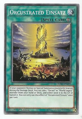 Orcustrated Einsatz SOFU-EN059 Common Yu-Gi-Oh Card English 1st Edition New