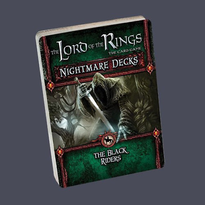 The Lord of Rings Card Game: Black Rider Nightmare Decks