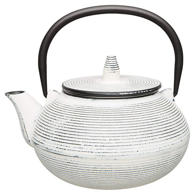BergHOFF Japanese-Style Cast Iron Teapot, 750ml, White