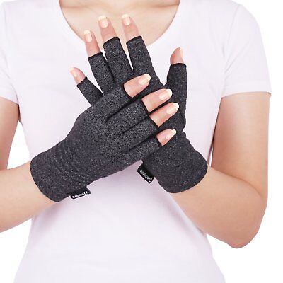 Arthritis Compression Hand Gloves Fingerless,Relieve Pain,RSI,Carpal Tunnel