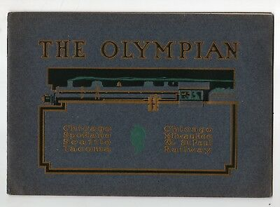 Early 1900s The Olympian of Chicago, Milwaukee & St Paul RR