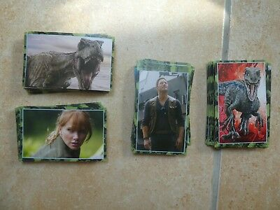 Panini JURASSIC WORLD 2 Le monde déchu Lot de 10 Stickers au choix