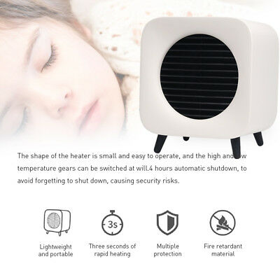 220V 700W Portable Ceramic Heater Personal Safe Intelligent Control Energy Save
