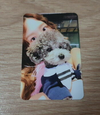 Girls' Generation SNSD Taeyeon mini album Something new A Photo Card Official