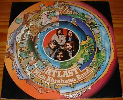 Lp:Mick Abrahams Band:At Last,1. Pressung in m-/m-!