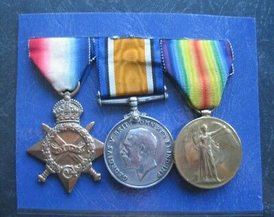 World War One 1914 -15 Medal Group - Pte. F.clare, K.r. Rif.c