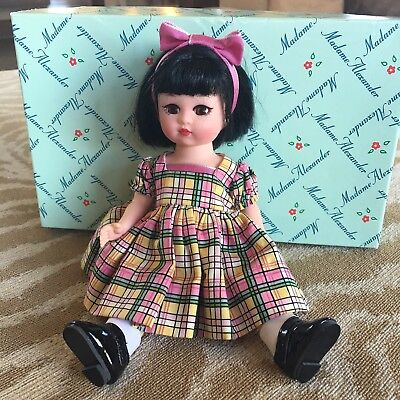 "Madame Alexander Doll  - 40805 Sheer Charm 8""H Black Hair"