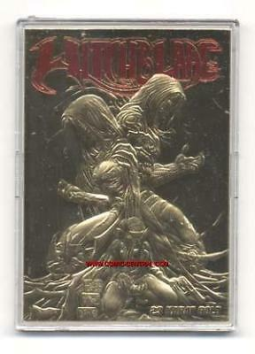 Witchblade #10 Df 23K Gold Card Red Foil Embossed Michael Turner Dynamic Forces