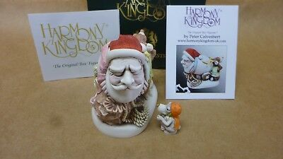 Harmony kingdom  SANTA  2017  MAIL SHOT MADE IN  England, ORANGE COLOR