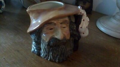 Oldcourt Ware Toby Jug - The Tramp - Collectable