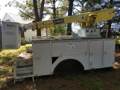Altec 45 foot lift and self contained power unit