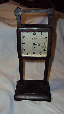 Rare Model Antique Ansonia Gravity desk clock weight drive complete parts repair