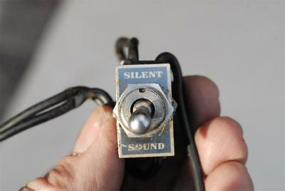 B&H Bell & Howell Filmosound 16mm Projector Sound Silent Switch w/lamp