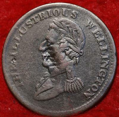1816 Great Britain 1/2 Penny Token Foreign Coin