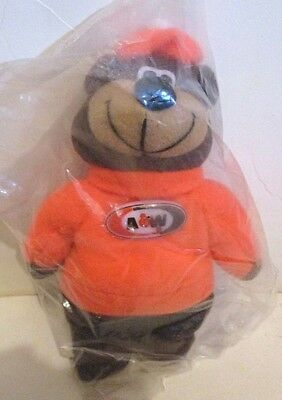 A & W Root Beer Plush Bean Bag Bear Mascot Soda Advertising Doll Toy Doll Logo