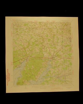 Elkton Maryland Delaware Pennsylvania 1942 original USGS Topographical chart