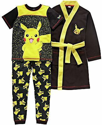 Pokemon Pyjamas and Robe Set - 5-6 Years