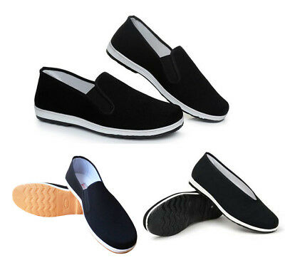Chinese Kung Fu martial arts shoes soft bottom Tai Chi flat shoes for men and wo