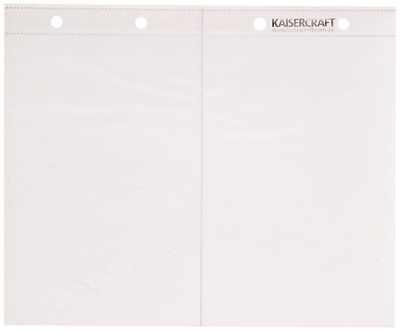Kaiser Craft 6 x 8-Inch Pocket Pages Pack 4