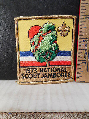 Boy Scouts Of America 1973 National Scout Jamboree Patch  1013TB.