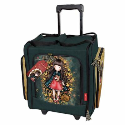 Santoro Autumn Leaves Card Craft Collection - Wheelable Craft Tote