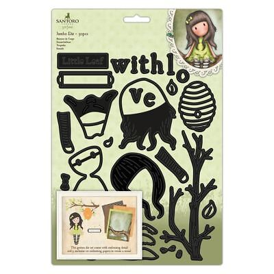 Santoro Autumn Leaves Card Craft Collection Jumbo Die Set - The Little Leaf