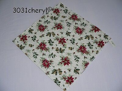 "Longaberger Holiday Botanical  36"" Table Square - New"