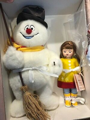 "Madame Alexander Doll 50410 8"" Maggie Loves Frosty the Snowman New in Box"