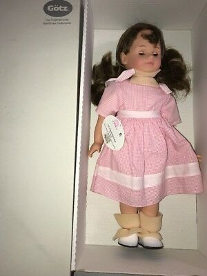 """Gotz 19 1/2"""" Baby Doll. """"Angelique"""" Made In Germany Brand New"""