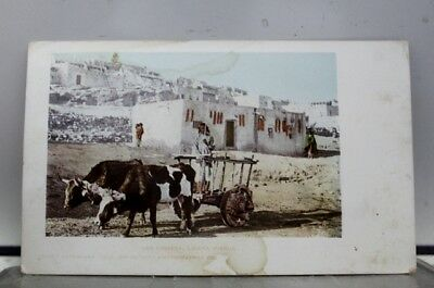 New Mexico NM Laguna Pueblo Carreta Postcard Old Vintage Card View Standard Post