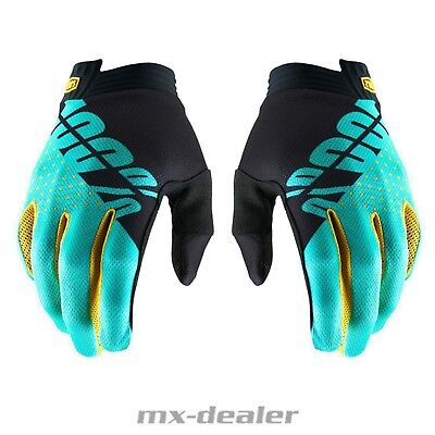 100% Percent Itrack 2019 Petrol Gloves MTB Dh Mx Bmx Motocross Enduro Quad