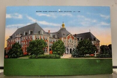 Louisiana LA New Orleans Notre Dame Seminary Postcard Old Vintage Card View Post