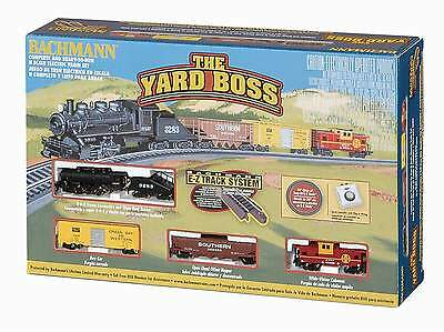 Bachmann The Yard Boss Train Set Santa Fe 0-6-0 Steam Engine N Scale