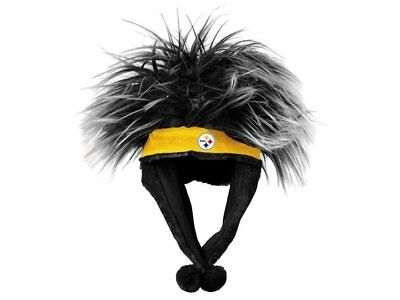 Pittsburgh Steelers Football Embroidered Logo NFL Troll Dangle Top Party Hat