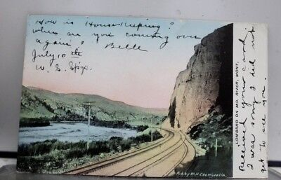 Montana MT Missouri River Lombard Postcard Old Vintage Card View Standard Post