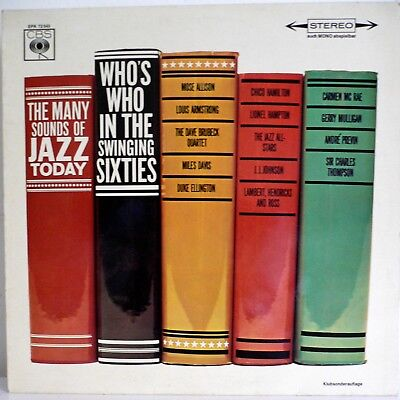 The Many Sounds Of Jazz Today - Who's Who In The Swinging Sixties - Epk 72 545