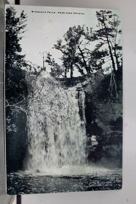 Minnesota MN Minneopa Falls Lake Crystal Postcard Old Vintage Card View Standard
