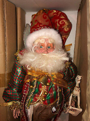 Mark Roberts Large NORTH POLE FAIRY Stocking Holder Mint-in-Box