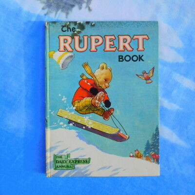 Rare 1956 Rupert annual not inscribed, nor price clipped, no paint contest done!