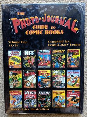Comic Covers Golden Age Photo-Journal Hardcover V1 - 10k Photos HC Nr Mint!!+