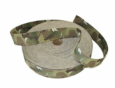 "38mm / 1.5"" Double Sided Original Crye Multicam Elastic ( Military Webbing MTP"