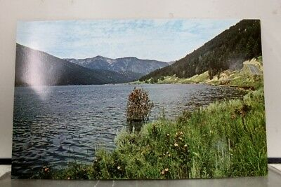 Montana MT Hebgen Lake West Yellowstone Postcard Old Vintage Card View Standard