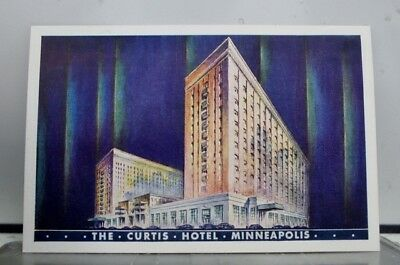 Minnesota MN Curtis Hotel Minneapolis Postcard Old Vintage Card View Standard PC
